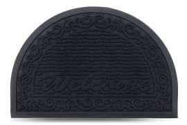 Коврик придверный MX-S, чёрный, 40х60 см