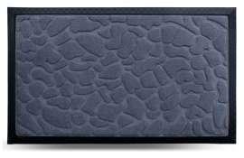 Коврик придверный MX, серый, 45х75 см