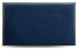 Коврик придверный MX, синий, 45х75 см