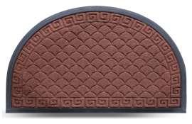 Коврик придверный MX-S, светло-коричневый, 45х75 см