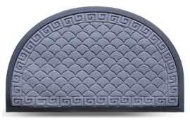 Коврик придверный MX-S, серый, 45х75 см