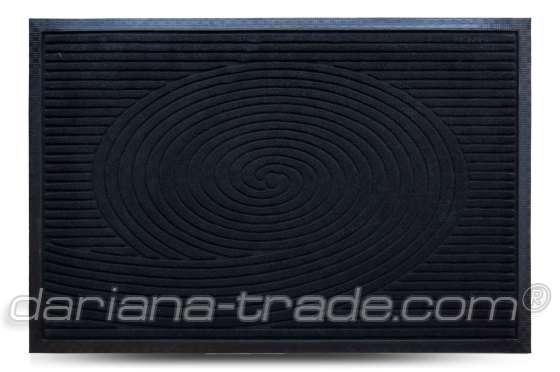 Килимок MX, чорний, 60х90 см