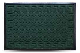 Коврик придверный MX, смарагд, 60х90 см