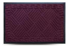 Коврик придверный MX, бордо, 60х90 см