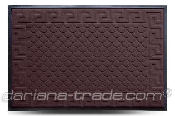 Килимок MX, коричневий, 80х120 см