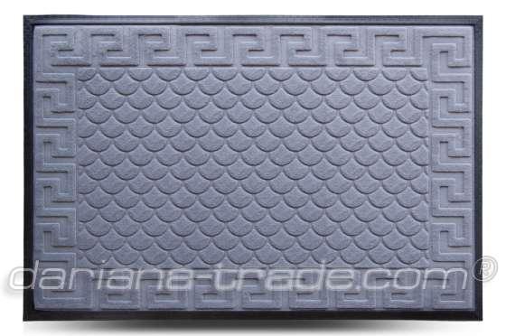 Килимок MX, сірий, 80х120 см