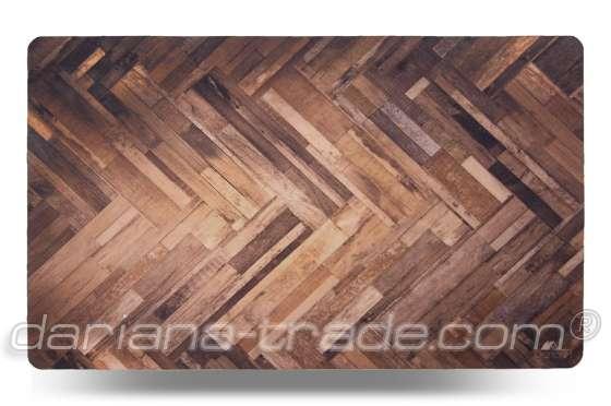 Універсальний килимок Принт «Parquet», 45x75 см