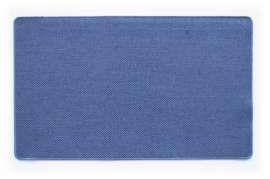Коврик Полиэстер, синий, 45х75 см