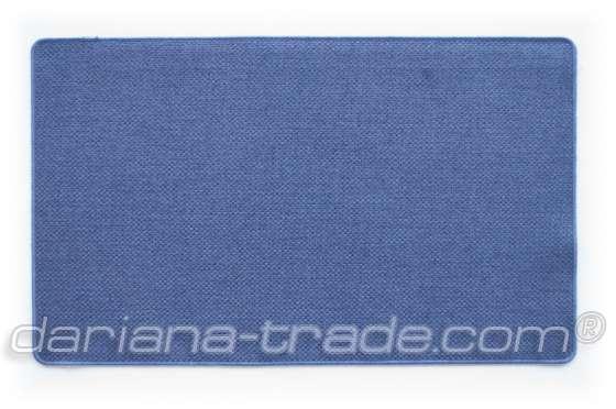 Килимок Поліестер, синій, 45х75 см