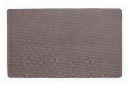 Коврик Текстилен, коричневий, 45х75 см