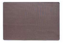 Коврик Текстилен, коричневий, 60х90 см