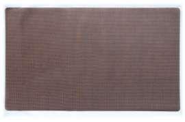 Коврик Текстилен, коричневий, 70x125 см