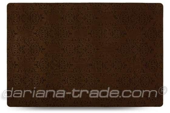 Універсальний килимок Велюр, шоколад, 60x90 см