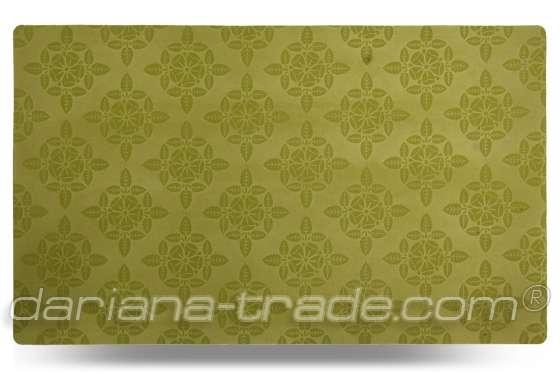 Універсальний килимок Велюр, зелений, 70x120 см