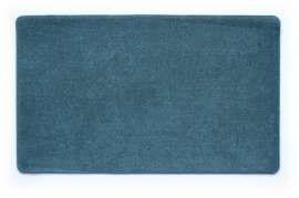 Коврик Шерсть, синий, 45х75 см