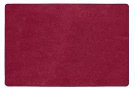 Коврик Шерсть, красный, 60х90 см