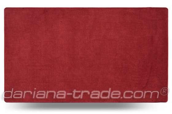 Універсальний килимок для дому Шерсть At Home червоний 68x120 см