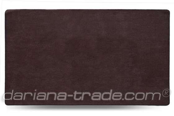 Килимок Шерсть, коричневий, 68x120 см