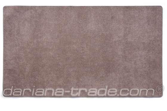 Килимок Шерсть, сірий, 68x120 см