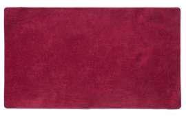 Коврик Шерсть, красный, 68x120 см